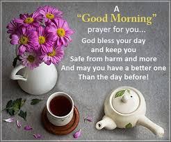 Good Morning Blessing Quotes Adorable Good Morning Quotes God Bless Your Day And Keep You Safe From Harm