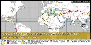 unit iii the postclassical era ce to ce room  postclassical era trade routes by 1450 ce
