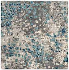 blue grey rug crosier light area green