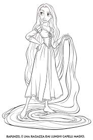 Small Picture Free Rapunzel Coloring Coloring Coloring Pages
