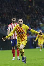 Spanish League Messi Goal Extends Atletico Winless Run