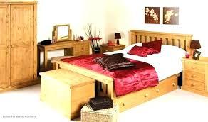 natural wood bed bedroom sets furniture finish