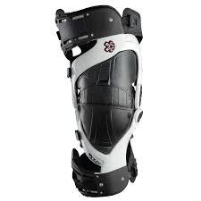 Asterisk Knee Brace Ultracell Black White Pair