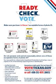 votetexas gov required identification