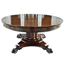 expanding circular table round that expands mechanism dining hardware c