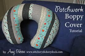 design challenge patchwork boppy cover tutorial