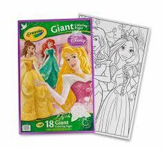Crayola Giant Coloring Pages Disney Princess Parkinggarageml