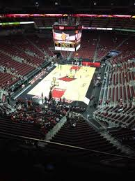 Kfc Yum Center Section 314 Home Of Louisville Cardinals