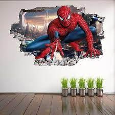 spiderman 3d wall