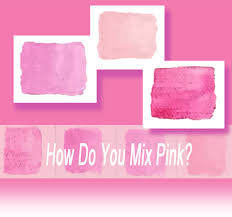 How Do You Mix Pink Celebrating Color