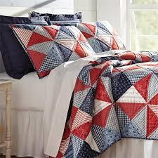 Patriotic Patchwork Quilt -- Orvis & Patriotic Patchwork Quilt Adamdwight.com