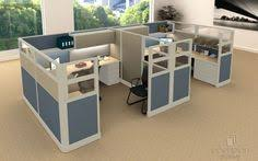 office cubicle design. 2 Person 8\u0027 X Cubicles Tiled Fabric With Double Glass. Http: Office Cubicle Design E