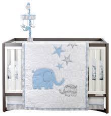 zutano elefant blau 4 piece crib