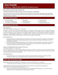 Trust Officer Resume
