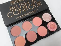 a british sparkle 8 day s with makeup revolution blush contour palette