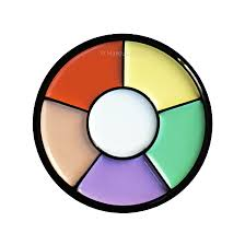 morphe 6c colour corrector wheel