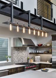 Industrial Lighting Kitchen Interior Industrial Lighting Wall With White Cap Design Fileove