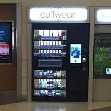 Airport Vending Machines Cool Cuffwear Express Machines Open In Atlanta International Airport