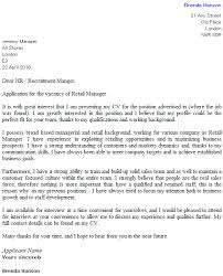 example of a cover letter uk retail cover letter example icover org uk
