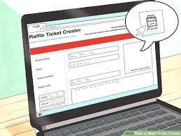 Event Ticket Printing Software A Ticket Unique Creator Free Printable Raffle Templates Om Download