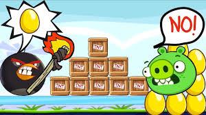 Angry Birds Bomb 2 - STOP STEALING GOLDEN EGG PIGGIES - BOMBER BIRD -  YouTube
