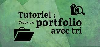 portfolio blog du mmi tutoriel pour créer un portfolio avec tri