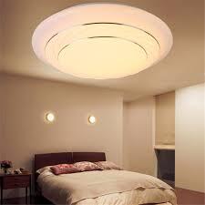 modern 24w round led ceiling light chandelier pendant lamp flush mount home room