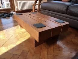 kingsize bed coffee table from railway sleepers for oak sleeper coffee table