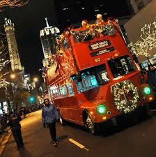 Chicago Trolley Christmas Lights Chicago Trolly Decked Out For Christmas Lights Tour