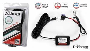quick easy dash cam installation kits for made in the usa dash cam installation kit 12v fuse tap input to 5v output composite packaging diagram image