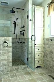 half wall height code pony wall height shower pony wall height walk in showers that add half wall height