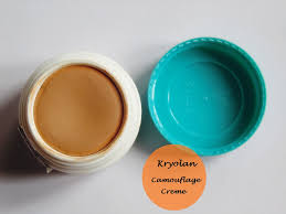 Kryolan Derma Color Camouflage Creme Review And Swatch