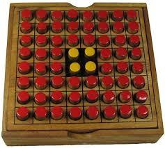 Wooden Othello Board Game Othello Reversi Game 30