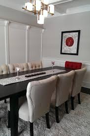Red Dining Room Chairs Enchanting Red And Grey Dining Room Contemporary 3d House