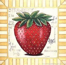 strawberry ffv 062 original acrylic on canvas 54 x 54 inches 2100