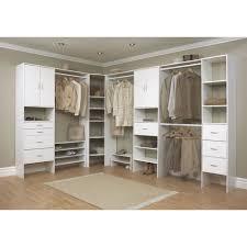 closet including white wood home depot closet organizers and light oak