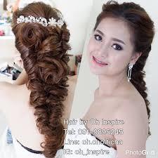 ทรงผมเจาสาวพวงองน Make Up By Pui Hair By Oh Line Oh