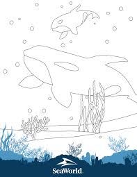 Fun & easy to print. Coloring Pages Games Seaworld