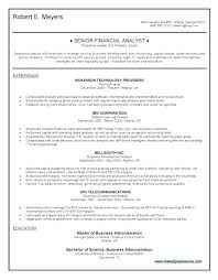 Sample Federal Budget Analyst Resume