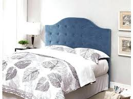 wonderful tufted headboard queen bedroom interior contemporary blue with thick comforter diy size comf