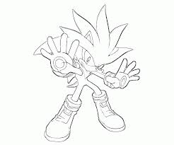 Metal Sonic Coloring Pages Coloring Home