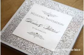 30 fabulous wedding invitations to suit every style of couple Wedding Invitations Listowel Kerry glitter wedding invitation wedding invitations listowel co kerry