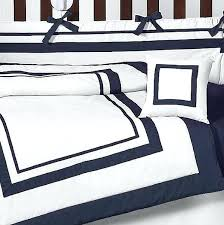 blue white bedding sets navy blue and white comforter sets hotel baby bedding set by sweet designs 9 blue white striped bed linen
