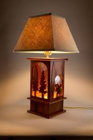 traditional 3 way table lamps made of wood and string lamp shades for wonderful home decorating