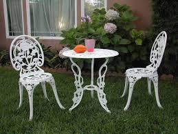 white iron outdoor furniture. Outdoor:Retro Style Metal Patio Chairs Garden Furniture Aluminium White Iron Outdoor H