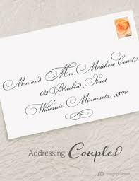 addressing wedding invitations magnetstreet weddings Whose Name Should Go First On Wedding Invitations traditionally, when last names are different, the woman's name is written first the word \u201cand\u201d implies marriage whose name goes first on wedding invitations
