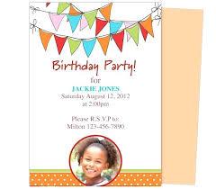 Photoshop Birthday Invitation Template Kayas