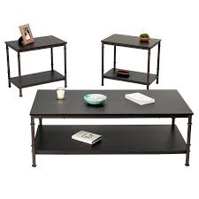 london s coffee table and end tables set 3 piece