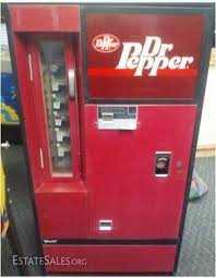 Dr Pepper Vending Machine For Sale Classy Working Vintage Dr Pepper Vendalator Vending Machine Coin Op