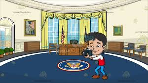 oval office picture. A Kind Boy Taking Pictures At The Oval Office Picture